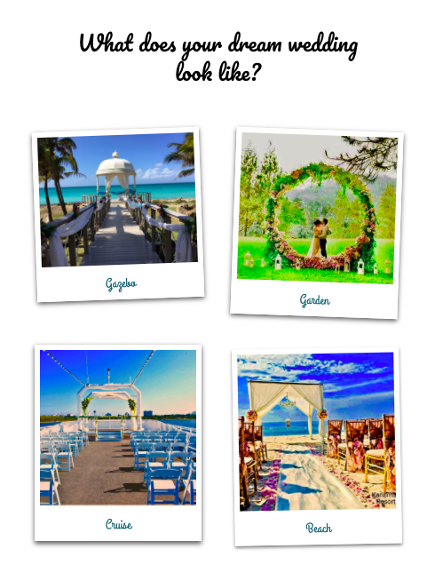 Virtualdestinationwedding quiz